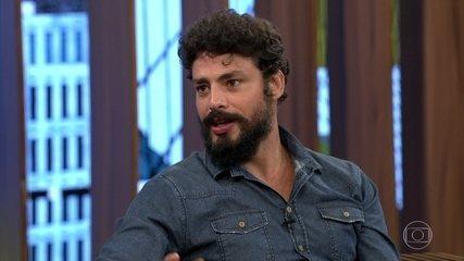 Cauã fala da época em que lutava jiu jitsu em Nova York e conta que fazia jejum de sexo