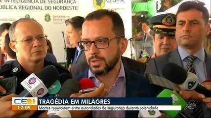 Secretário da Segurança Pública fala sobre ação em Milagres
