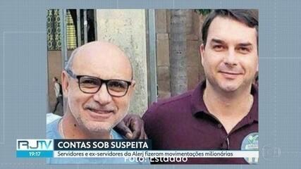 Servidores e ex-servidores da Alerj que fizeram movimentações milionárias são investigados