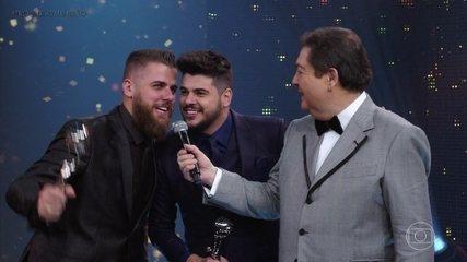 Zé Neto & Cristiano ganham com a 'Música do Ano'