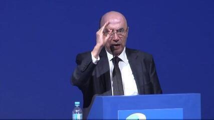 """""""O crescimento real das despesas públicas será zero acima da inflação,"""" diz Meirelles"""