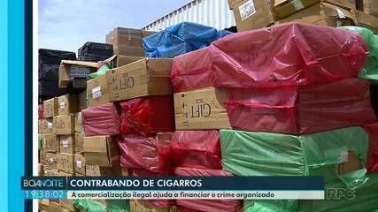 Pesquisa mostra os prejuízos do contrabando para o país