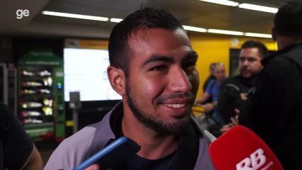 Sornoza desembarca em São Paulo para acertar negociação com Corinthians