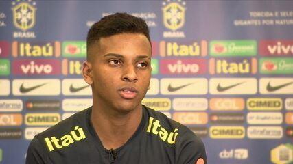 Rodrygo é uma das maiores esperanças da seleção brasileira no Sul-Americano sub-20