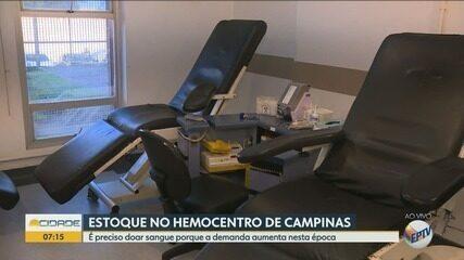 Hemocentros alertam para queda nas doações de sangue