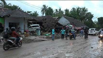 Tsunami na Indonésia deixa mais de 200 mortos e 800 feridos