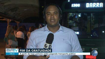 Integra suspende gratuitade para policiais civis e militares nos ônibus de Salvador