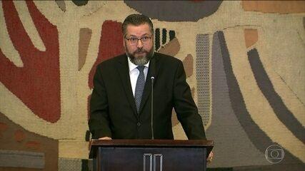 Ernesto Araújo, ministro das Relações Exteriores, promete libertar a política externa