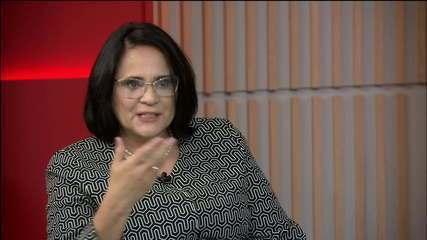 Damares Alves diz que não se arrepende de frase sobre cores para meninos e meninas