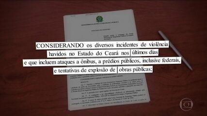 Ministro Sérgio Moro determina envio da Força Nacional ao Ceará
