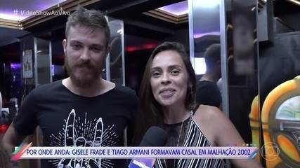 Saiba por onde andam Gisele Frade e Tiago Armani