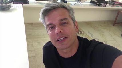 Otaviano comenta a estreia de 'Tá Brincando'