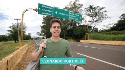 O Leo Portiolli mostrou os mistérios de Apucarana no quadro 'Descubra o Paraná', no Estúdio C