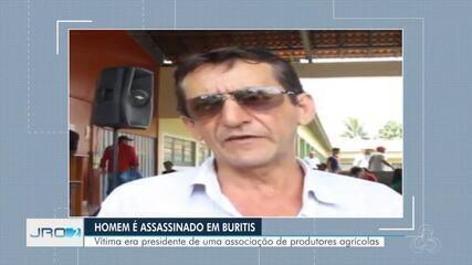 Homem é assassinado em Buritis