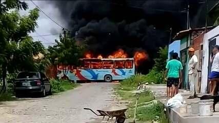 Bandidos explodem bomba em viaduto no 8º dua seguido de ataques no Ceará