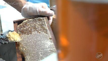 Aprenda a fazer uma calda de mel no 'Histórias e Sabores'