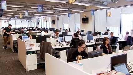 Empresas grandes procuram jovens com boas ideias
