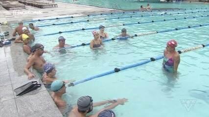 Ex-nadadora Joanna Maranhão dá lição de vida em Santos