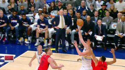 Melhores momentos: Denver Nuggets 116 x 113 Portland Trail Blazers pela NBA