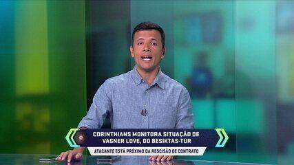 Central do Mercado: Besiktas-Tur procura Vagner Love para rescisão de contrato e Corinthians monitora