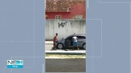 Polícia Militar aumenta rondas perto de viaduto no Recife onde motorista foi assaltado