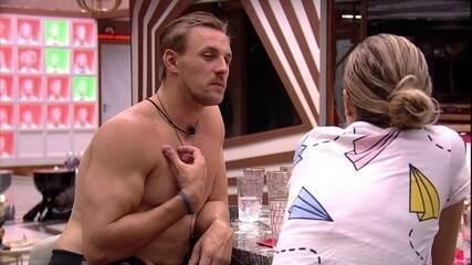 Isabella e Diego conversam sobre Paula: 'Não tem porque eu mentir'
