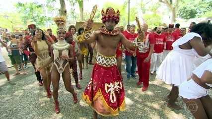 Enredo e samba: Salgueiro vai homenagear seu padroeiro Xangô