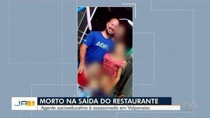 Agente socioeducativo é morto a tiros na porta de restaurante em Valparaíso de Goiás
