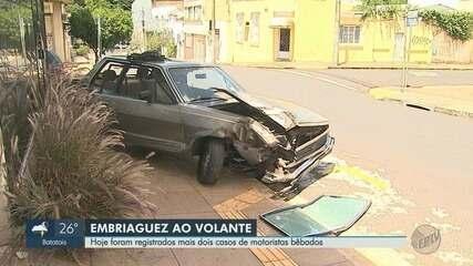 Motorista é preso por embriaguez após bater em carro da Guarda Municipal em Ribeirão Preto