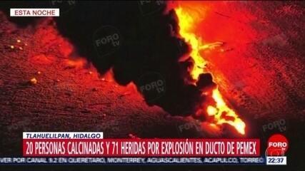 Explosão em oleoduto no México deixa dezenas de mortos e feridos