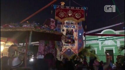 Trinca de Ás e Boi da Macuca mostram que já é carnaval em Olinda
