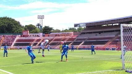 Os gols de Botafogo-SP 1 x 1 São Bento pela 1ª rodada do Campeonato Paulista