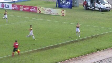 Os gols de Marcílio 1 x 2 Criciúma pela 2ª rodada do Catarinense