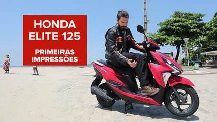 Honda Elite 125: saiba como anda o scooter mais barato da Honda