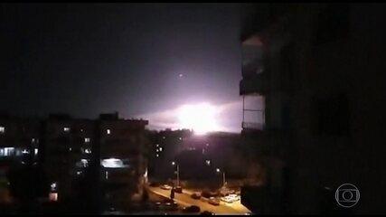Israel ataca alvos do Irã na Síria