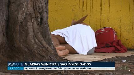 Guardas Municipais são suspeitos de agredir moradores de rua em Maringá