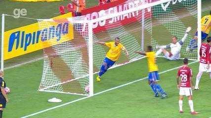 Confira os melhores momentos entre Internacional 1 x 2 Pelotas