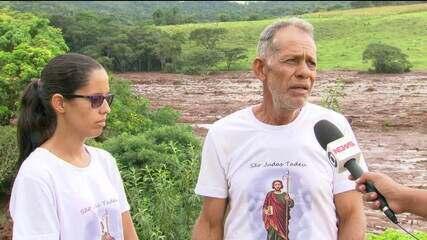 Produtor rural e sua filha contam como sua propriedade foi devastada em Sobradinho