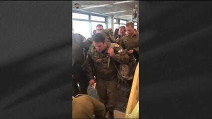 Militares de Israel embarcam para ajudar em trabalhos de busca em Brumadinho