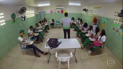 Escola rural do sertão do Ceará se transforma em modelo de qualidade