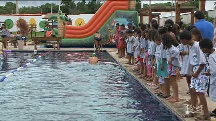 Projeto em São Luís busca atrair crianças para a natação