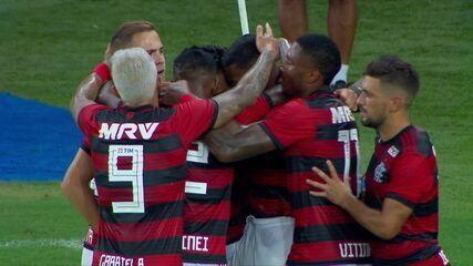 Melhores momentos de Flamengo 3 x 1 Boavista pelo Campeonato Carioca