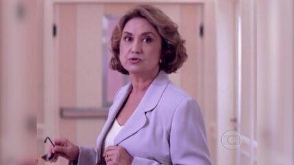 Eva Wilma e Patrícia Pillar no seriado 'Mulher'
