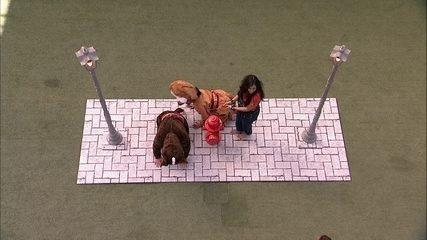 Hana, Gabriela e Alan cumprem o Castigo do Monstro pela primeira vez