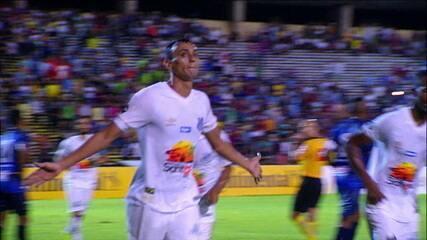 Os gols de Altos 1 x 7 Santos pela Copa do Brasil 2019