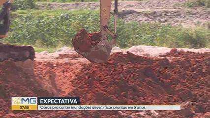 Obras pra conter inundações devem ficar prontas em 5 anos em Belo Horizonte