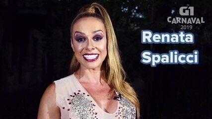 Renata Spalicci é a musa da bateria da Acadêmicos do Tatuapé