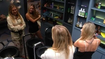 Paula sobre Diego para Isabella: 'Tá nervosinho ele'
