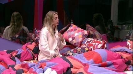 Isabella volta a dormir no Quarto Diamante