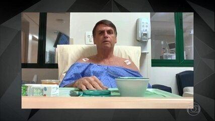 Quadro pulmonar de Bolsonaro apresenta melhora significativa, diz boletim médico